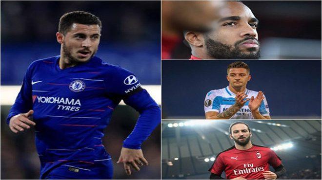 10 ngôi sao giá trị nhất Europa League: Mục tiêu MU kém Hazard 1 bậc