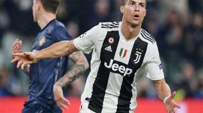 Lập tuyệt phẩm 1 chạm vào lưới Man Utd, Ronaldo đã ăn mừng một cách đ.i.ê.n cuồng như vậy sao?