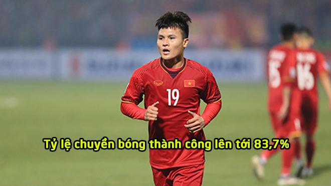 Thi đấu xuất sắc, Quang Hải sở hữu khả năng chuyền bóng cực đỉnh ở AFF Cup khiến ai cũng nghiêng mình thán phục