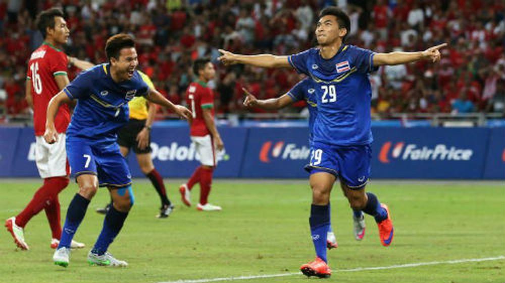 """Kết quả Thái Lan vs Indonesia: Hai siêu phẩm khơi màn """"đại tiệc"""" 6 bàn thắng"""
