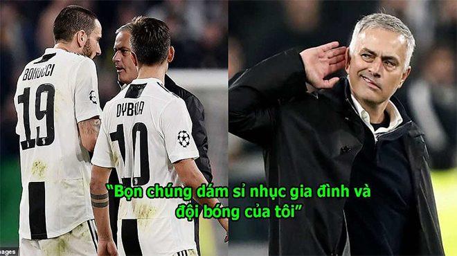 Đích thân Mourinho tiết lộ lý do gây sự với cầu thủ và CĐV Juve, fan MU nghe xong hả dạ vô cùng