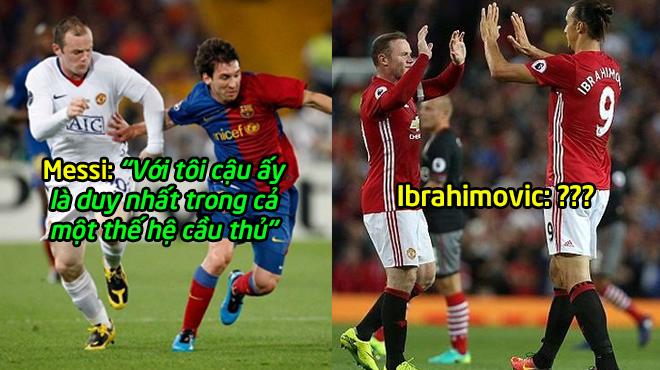 10 siêu sao bóng đá lừng danh trên TG nói gì về Rooney: Đọc đến Ibra, mới biết gã Shrek vĩ đại đến nhường nào!