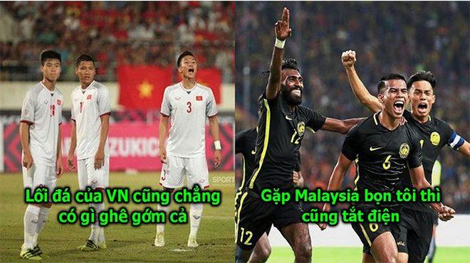 CĐV Malaysia khiêu khích ĐT Việt Nam: Thắng Lào thì dễ, gặp chúng tôi thì biết nhau ngay!