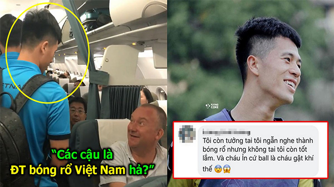 Bị nhóm du khách Tây túm lại hỏi, Đình Trọng trả lời thế này về ĐTVN khiến fan té ngửa với trình độ tiếng Anh của mình