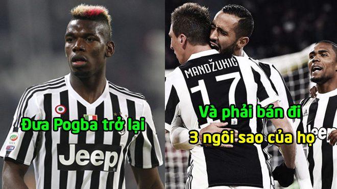 CHUYỂN NHƯỢNG ngày 12/11: Juventus quyết sinh 3 ngôi sao, chiêu mộ bằng được Paul Pogba