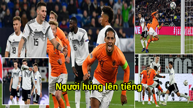Kết quả Đức vs Hà Lan: Tấn công rực lửa, vỡ oà phút 90