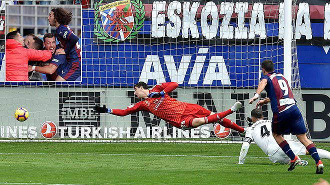 Kết quả Eibar vs Real Madrid: Bàn thắng nhờ công nghệ VAR và kết cục kinh hoàng