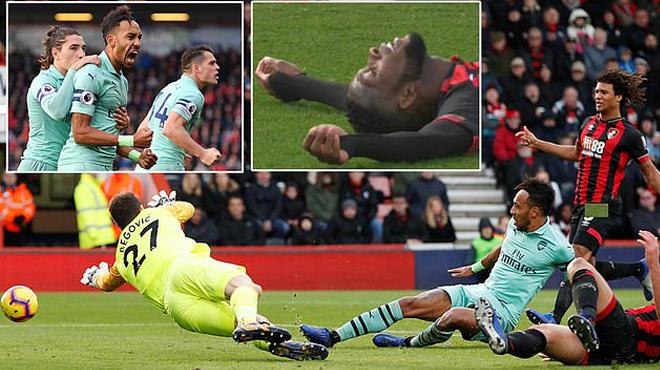 Kết quả Bournemouth vs Arsenal: Batman giải hạn, Pháo thủ lập kỷ lục kinh hoàng 17 trận bất bại