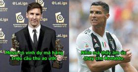 Ronaldo vừa rời La Liga, Messi ngay lập tức được trao vinh dự đặc biệt chưa ai có trong đời, thật bất công