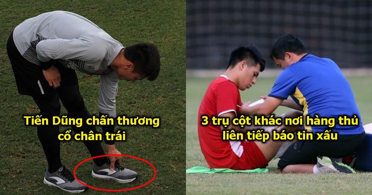 Tin xấu dồn dập ập đến: 4 trụ cột hàng thủ tập tễnh rời sân, tham vọng vô địch của Việt Nam lâm nguy thật sự