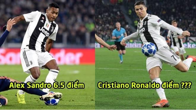 Chấm điểm Juventus trận Valencia: CR7 người kiến tạo vĩ đại vẫn phải chào thua 1 cái tên
