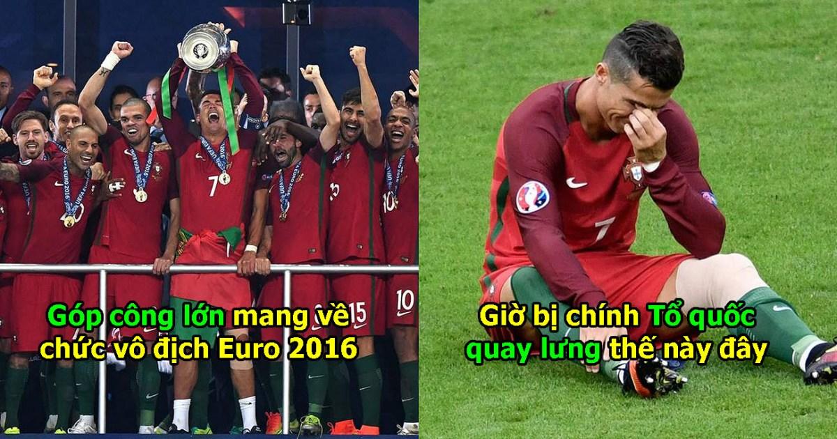 Rực sáng như 1 vị thần ở Juventus, tuyển Bồ Đào Nha vẫn đối xử với Ronaldo thế này đây!