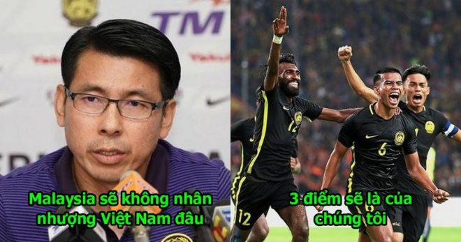 """HLV Malaysia mạnh miệng đắc chí: """"Chúng tôi sẽ chơi tấn công và rời Mỹ Đình với 3 điểm"""""""