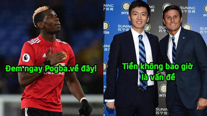"""""""Cậu ấm"""" Trung Quốc bơm 200 triệu bảng: Inter tính cuỗm Pogba ngay trước mũi Juve"""