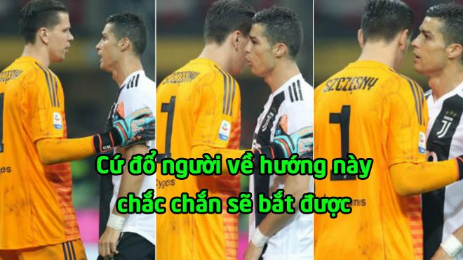 """CHÙM ẢNH: Ronaldo tinh quái đọc vị Higuain; Szczesny bắt 11m """"dễ như ăn kẹo"""""""