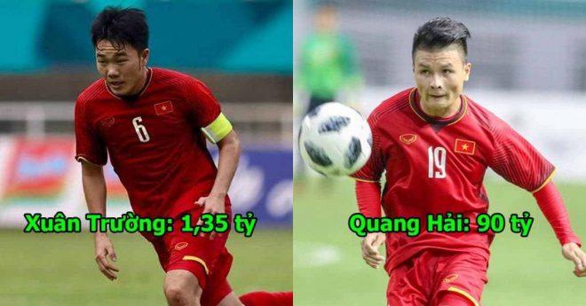 10 cầu thủ đắt giá nhất Việt Nam: Công Phượng đã bị Quang Hải bỏ xa thế này đây