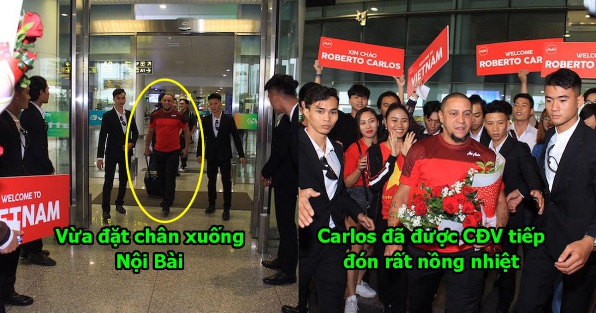 CHÙM ẢNH: Huyền thoại Carlos đặt chân đến Nội Bài, sẵn sàng tiếp sức ĐT Việt ở Mỹ Đình tối nay