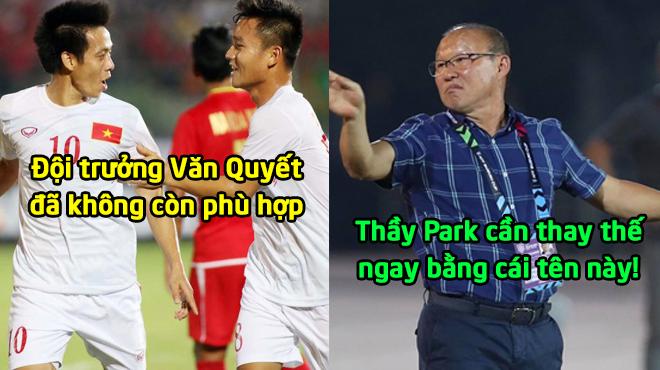 Những vấn đề thầy Park cần giải quyết trước vòng Bán kết: Cần để cái tên này thay thế Văn Quyết ngay lập tức!