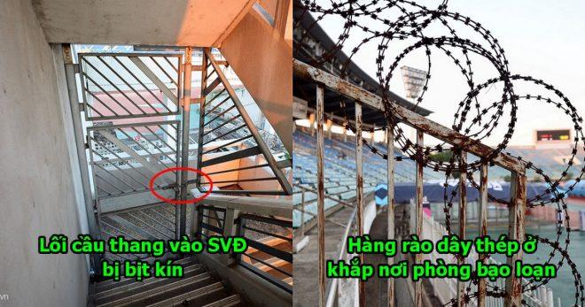 Lo sợ CĐV Việt Nam làm loạn như ở Mỹ Đình, chủ nhà Myanmar giăng thiên la địa võng khắp nơi nhìn mà phát khiếp