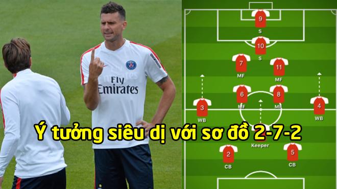 ĐI.ÊN RỒ: Thiago Motta làm cách mạng bóng đá với sơ đồ 2-7-2 siêu tấn công