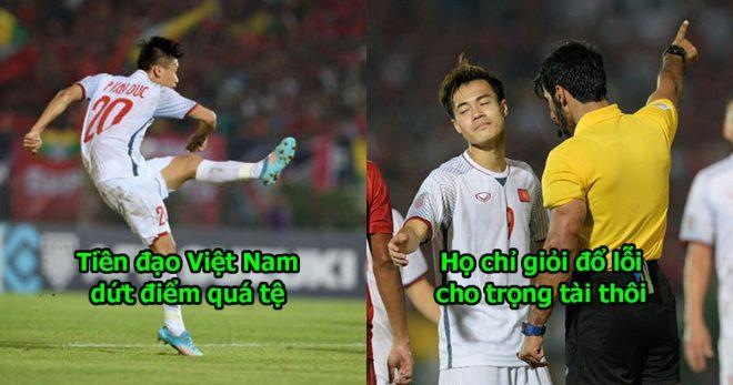 """Báo Thái Lan: """"Đúng là Việt Nam! Không thắng là lại đổ lỗi cho trọng tài chúng tôi?"""""""