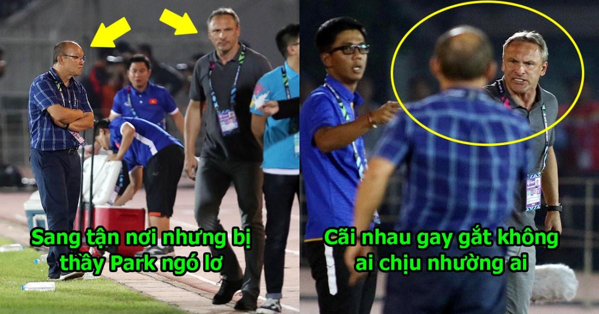 Đã rõ nguyên nhân thầy Park giận tím mặt, từ chối bắt tay HLV trưởng ĐT Myanmar sau trận đấu, hóa ra nguyên nhân là thế này đây