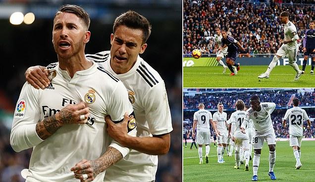 Ramos tái hiện tuyệt phẩm Panenka, Real rũ bùn đứng lên, chấm dứt 3 trận toàn thua