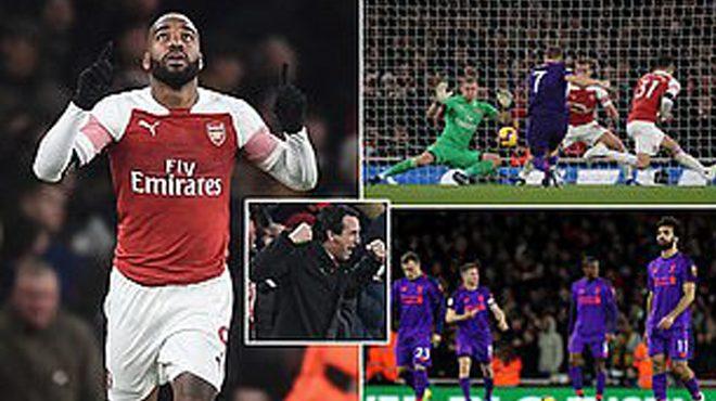 Lacazette lập siêu phẩm thần sâu, Arsenal chia điểm đầy kịch tính với Liverpool, kéo dài chuỗi 13 trận bất bại