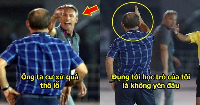 Bị HLV Myanmar chê thiếu chuyên nghiệp, thầy Park nổi cáu đáp trả cực gắt như thế này đây