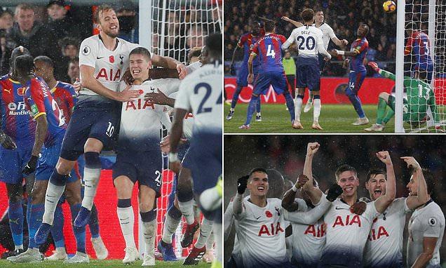 """Kết quả Crystal Palace vs Tottenham: Người hùng lạ mặt định đoạt """"thủy chiến"""""""