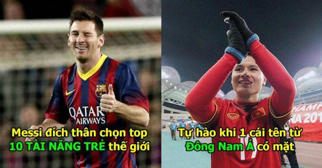 Đích thân Messi chọn ra 10 tài năng trẻ xuất sắc nhất thế giới: Bất ngờ khi có 1 cái tên đến từ Đông Nam Á