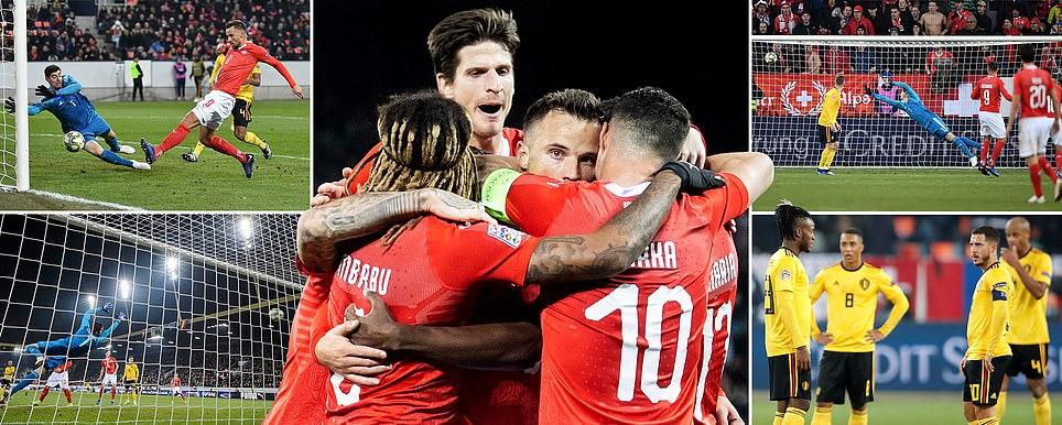 Kết quả Thụy Sỹ vs Bỉ: Mãn nhãn với đại tiệc tưng bừng 7 bàn thắng và kết cục khó tin