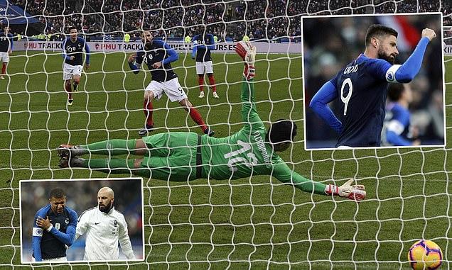 """Kết quả Pháp vs Uruguay: Dàn SAO đọ tài và dấu ấn """"Vua bọ cạp"""""""