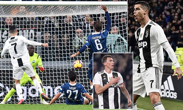 Ronaldo thể hiện phong độ ghi bàn đáng sợ, Juventus ngạo nghễ bá chiếm ngôi đầu Serie A