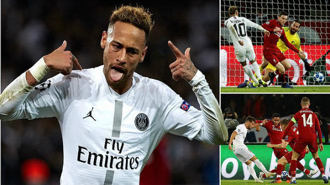 Kết quả PSG vs Liverpool: Neymar rực sáng và kịch tính chấm phạt đền