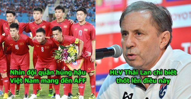 Nhìn danh sách ĐT Việt Nam mang đến AFF Cup, HLV trưởng Thái Lan phải thốt lên thế này đây