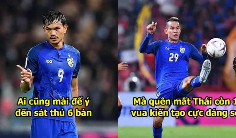 """Ngoài """"quái thú"""" lập cú đúp hat-trick, Thái Lan có thêm vua kiến tạo khiến Việt Nam sợ xanh mặt"""