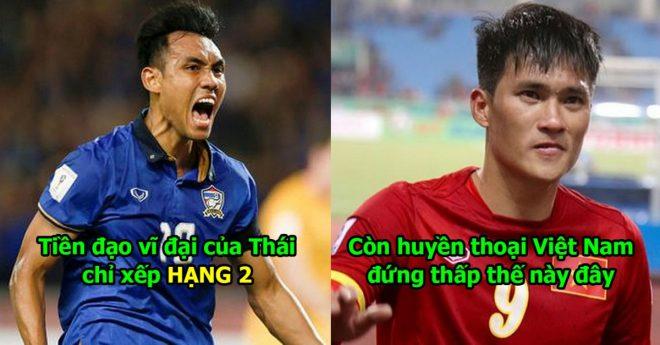 Indonesia dám coi thường huyền thoại Việt Nam trong cuộc bầu cử tiền đạo xuất sắc nhất AFF Cup thế này đây