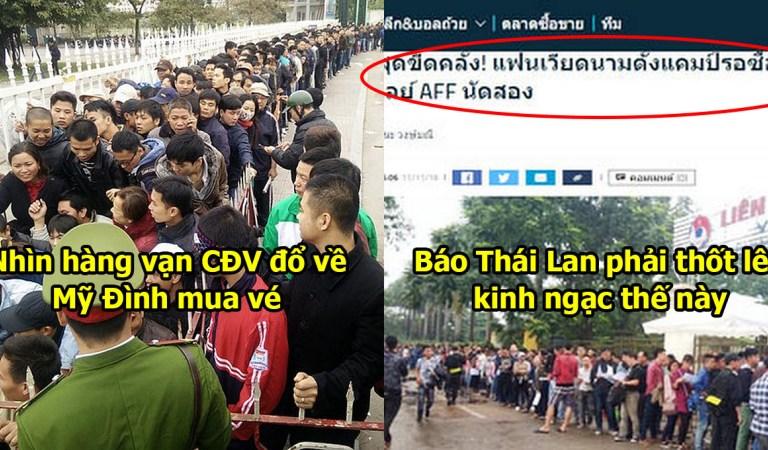 """Chứng kiến SVĐ """"Mỹ Đình"""" thất thủ trước giờ lâm trận, báo Thái Lan phải thốt lên kinh ngạc thế này đây"""