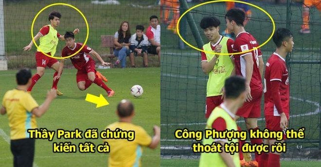Công Phượng bị thầy Park đuổi thẳng cổ, Khi có hành vi phi thể thao với Duy Mạnh, đây sẽ là dấu chấm hết cho anh?