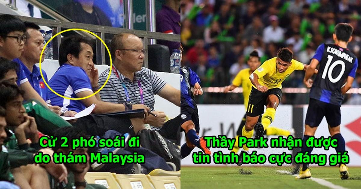 Nhận được tin tình báo từ 2 phó soái do thám Malaysia, thầy Park hạ lệnh phải kèm chặt cái tên này