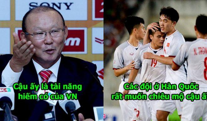 """Báo Hàn Quốc: """"Tài năng như cậu ấy nên sang K-League thi đấu, ở lại Việt Nam quá phí phạm"""""""