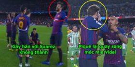 Biến căng: Dàn sao Barca cãi nhau nảy lửa ngay trên sân, Suarez còn chửi như tát nước vào mặt Pique thế này