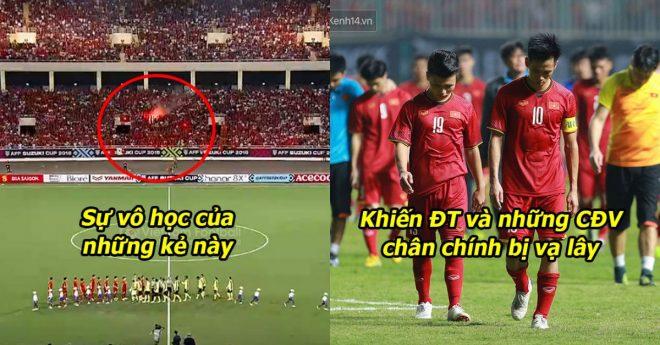 Để CĐV đốt pháo sáng, ĐT Việt Nam khả năng sẽ phải đá sân trung lập