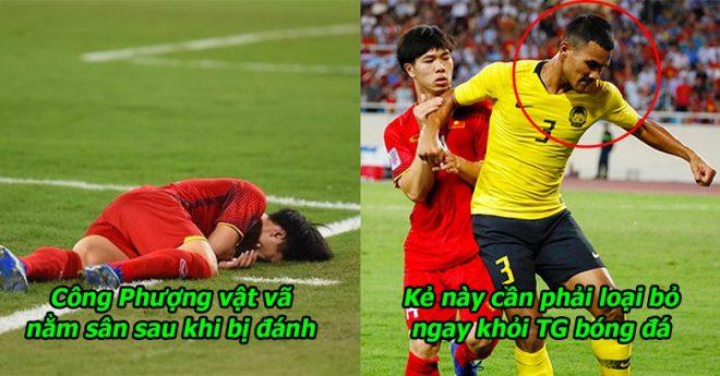 """Trọng tài AFC: """"Hậu vệ Malaysia đánh nguội Công Phượng đáng phải nhận thẻ đỏ"""""""