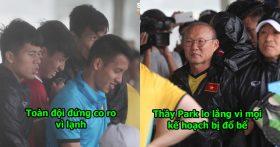CHÙM ẢNH: Dàn sao ĐTVN chịu khổ trong buổi tập đầu tiên tại Myanmar, nhìn mà xót xa quá!