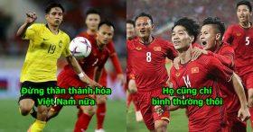 """Cầu thủ Malaysia vẫn cay cú: """"Chúng tôi đá trên cơ hẳn Việt Nam, chỉ là hơi đen mà thôi!"""""""