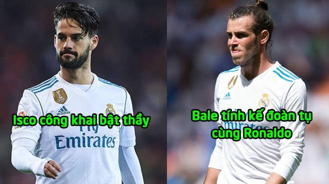 """Biến lớn ở Real: HLV Solari bị sao khủng """"bật"""", Bale mưu đoàn tụ Ronaldo"""