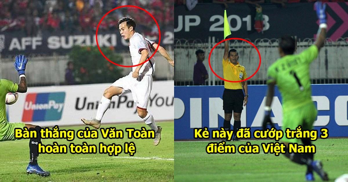 Đã tìm ra facebook của trọng tài cướp bàn thắng hợp lệ của Văn Toàn khiến CĐV Việt Nam uất ức phát khóc
