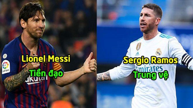 Đội hình tiêu biểu vòng 12 La Liga: Không thể gồng ghánh Barca khỏi trận thua nhưng Messi vẫn góp mặt
